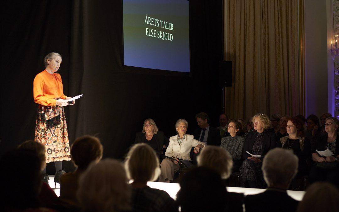 Læs årets tale 2019 holdt af Lektor Else Skjold